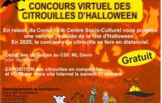 Résultats du Concours des citrouilles d'Halloween