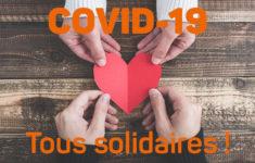 RESTONS TOUS SOLIDAIRES FACE AU COVID-19 A PUYRICARD